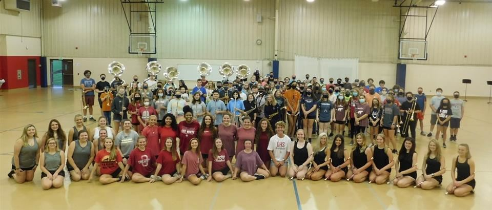 2020 Redskin Marching Band